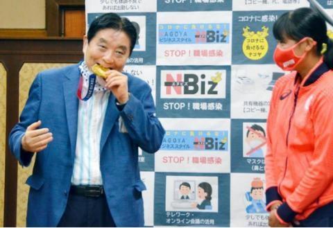 东京奥组委回应日本市长咬金牌咬过的不能免费换新